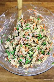 salade de pâtes au thon kedny cuisine