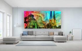 collage bielefeld und panorama bilder kunstbilder auf acryl