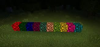 Minecraft Redstone Glowstone Lamp by Colored Glowstone Mod Minecraft Pe Mods U0026 Addons