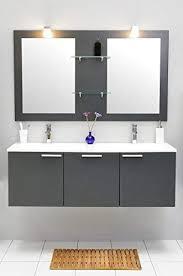 de badmöbel set mit waschbecken spiegel unterschrank