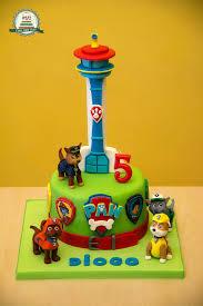 mini paw patrol lookout tower cake topper novocom top