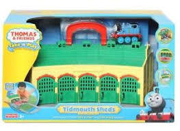 Tidmouth Sheds Deluxe Set by 16 Thomas The Train Tidmouth Shed Set Tomy Track Master