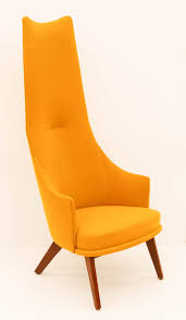 Adrian Pearsall For Craft Assoc. Yellow Lounge Chair 57''x24 Midcentury Modern Comfortable Light Grey Cashmere Lounge Chair High Back Buy Mid Century Chairhigh Chairlounge Georg Jsen Mahogany And Rope 1967s Danish High Back Mid Century Lounge Chair 1970s Design Market Hughes Refinished Solid Teak Mcm Recling Perfect Will Be Upholstered For You Vintage Dux La Authentic Milo Baughman Reclinerlounge In Black 1960s Midcentury Finds Set Of His Hers Parlor Chairs Whosale Ding Room Fniture Adrian Pearsall Slim Jim 1865c