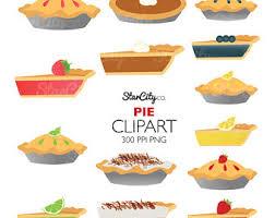 Pie clipart Fruit Pie Clip Art Pie Graphics Food clipart Coconut Pie