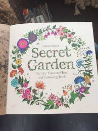 A Page From Basford Secret Garden Book