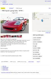 5.750, Bisakah Ini 2003 Toyota MR2 Spyder Menjadi Bayi Anda?