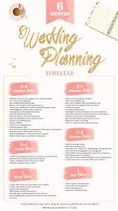 6 month wedding planning timeline Pinterest
