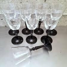 Vintage Set Of 8 Luminarc France Verrier DArques Arcoroc Wine Port
