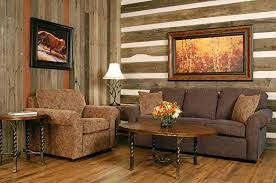 Rustic Interior Wall Stylish Homes With Wood