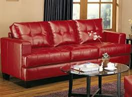 Red Leather Couch Living Room Ideas by Leather Sofa Living Room Fionaandersenphotography Co