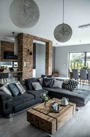 farbideen wohnzimmer grau für stil stabilität und harmonie