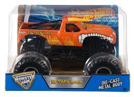 100 Monster Truck Jams Buy Hot Wheels DJW90 Jam 124 Hot Wheels El Toro Loco