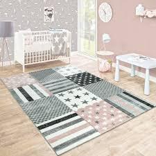 teppich in grau rosa
