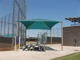 Bleacher Shade Canopies Amphitheater Grandstand Shade Structures