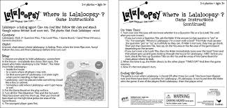Where Is Lalaloopsy Instructions