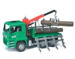 100 Bruder Logging Truck Best Log Kids Toy For Sale In White