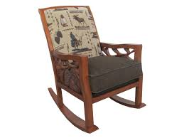 Marshfield Woodland Rustic Wood Framed Rocker Chair ... My Favorite Finds Rocking Chairs Down Time Exciting Rattan Wicker Chair Cushions Agreeable Fniture Rural Grey Wooden Single Rocking Chair Departments Diy At Bq Outdoor A L Hickory 7 Slat Rocker In 2019 Handsome Green Tweed Cushion Latex Foam Rustic American Sedona Lowes For Inspiring Antique Classic Check Taupe Plaid Standish Darek La Lune Collection Belham Living Raeburn Rope And Wood Walmartcom