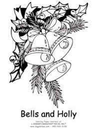 Geography Blog Christmas Bell Coloring Page