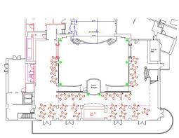 Atlantic Dance Hall WDW Lower Level Layout Existing Seating For 118 People Reception TableReception IdeasWedding