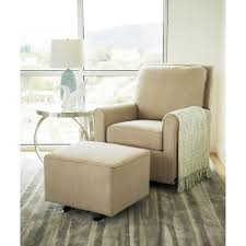 Abbyson Shiloh Fabric Gliding Chair And Ottoman (Beige) (Metal ... Shop Shermag Brown Glider Rocker And Ottoman Combo Free Shipping Baby Relax Rylan Grey Swivel Gliding Recliner Overstockcom The Best Y Bargains Fniture Rug Classy For Home Idea Recling Rocking Chair With Ottoman Caldwellmanagementco For Sale Portalcargoco Thealpinesocietyco Dutailier Ultramotion Espressolight Modern Amazoncom Hadley Double Beige Nursery Gliders Rockers Ottomans Find Great Classic Aqua Bella Velvet Today Art Van Kendall Ii
