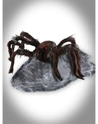 Motion Activated Outdoor Halloween Decorations by Brown Jumping Spider Animated Decoration U2013 Spirit Halloween The
