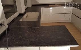 frankfurt steel grey küchenarbeitsplatte aus granit