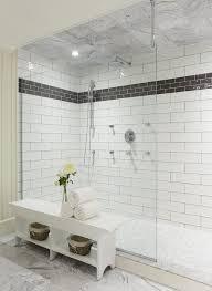 black and white shower contemporary bathroom muskoka living