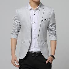 Brand New 2016 Spring Fashion Blazer Men Casual Designs Slim Fit Mens Jacket Party Dress Suit Top Quality In Blazers From Clothing