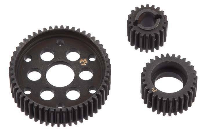 Axial Ax10 Hard Steel Locked Transmission Gear Set - 3pc