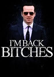 Jim Moriarty I M BACK BITCHES BBC Sherlock by skauf99 on DeviantArt