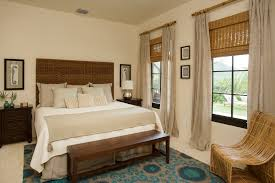 Bamboo Headboards For Beds by Pretty Wicker Headboard In Bedroom Beach Style With Bedroom Carpet