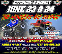100 Snake Bite Monster Truck Today Is The Day Day One Of The MTRL New Egypt Speedway Facebook