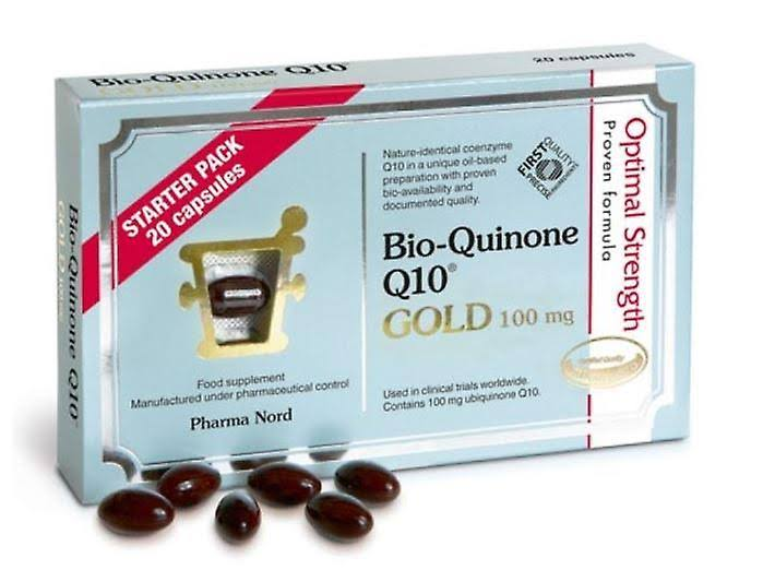 Pharma Nord Bio-quinone Active Q10 Gold Supplement - 100mg, 20ct