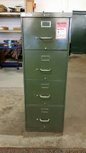 Sauder Edge Water Executive Desk by Green Legal 4 Drawer Filing Cabinet By Anderson Hickey