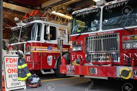 100 Fdny Fire Trucks NEW YORK CITY USA AUG 23 FDNY Truck Parked In The Stock