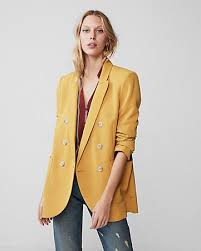 Express View Double Breasted Blazer