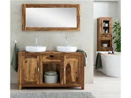 waschtisch mit spiegel palisander doppelwaschtisch holz