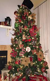 Rustic And Buffalo Plaid Christmas Tree
