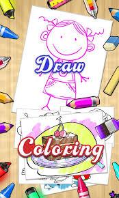 Color Draw Coloring Books Screenshot
