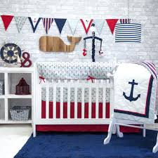 Bedroom Boy Nursery Bedding Luxury Nautical Baby Boy Nursery