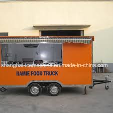 100 Food Truck Trailer China Mobile Cart Mobile Kiosk Van For Sale