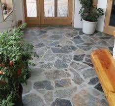 Indoor Flagstone Flooring