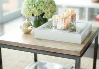 Coffee Table Decoration Fresh On Creative Idea Square Brown Decor With Beautiful