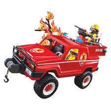 100 Playmobil Fire Truck EAN 4008789056160 Terrain Play Set
