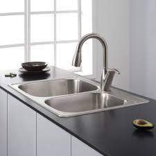 Black Kitchen Sink Faucet by Kitchen Design Wonderful Stainless Steel Undermount Sink Black