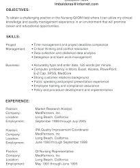 Sample Lvn Resume Resume Pro