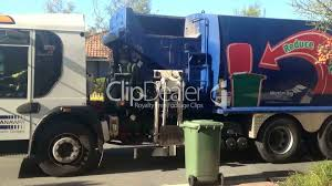Garbage Truck: Royalty-free Video And Stock Footage