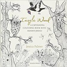 Tangle Wood A Captivating Colouring Book With Hidden Jewels Amazoncouk Jessica Palmer Books