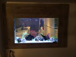 aquarium in wall ferry dc aquariums moderne