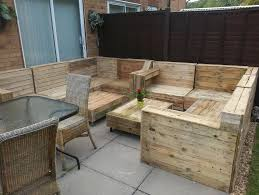 things to make with a wooden pallet outdoor furniture made from